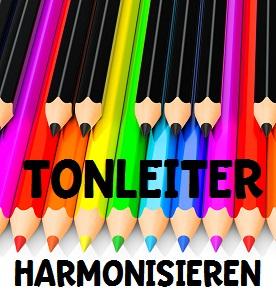 Tonleiter harmonisieren Teil 1