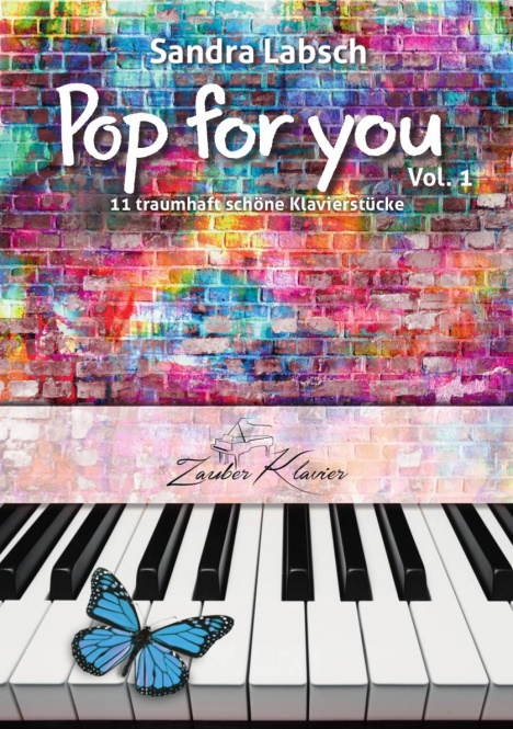 """S. Labsch """"Pop for You Vol. 1"""" (PDF-Download)) Cover Pop for You (Download)"""